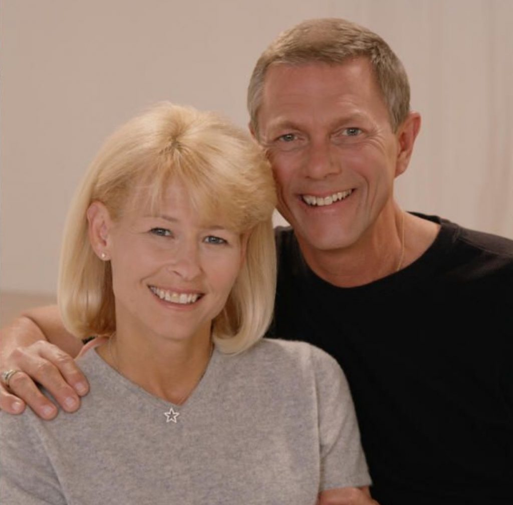 Richard Carpenter with wife Mary Rufolph