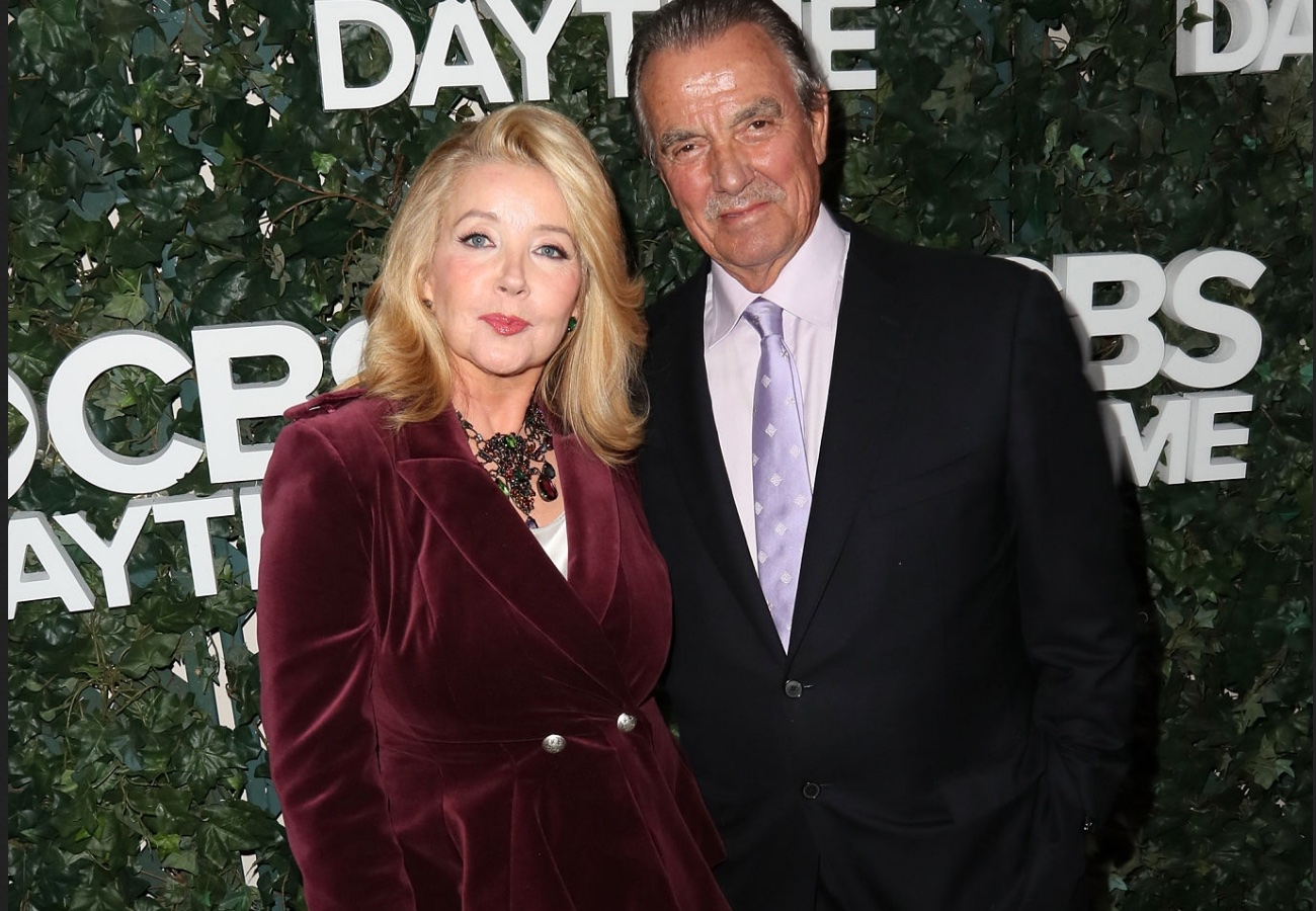 Eric Braeden and his co-star Melody Thomas Scott
