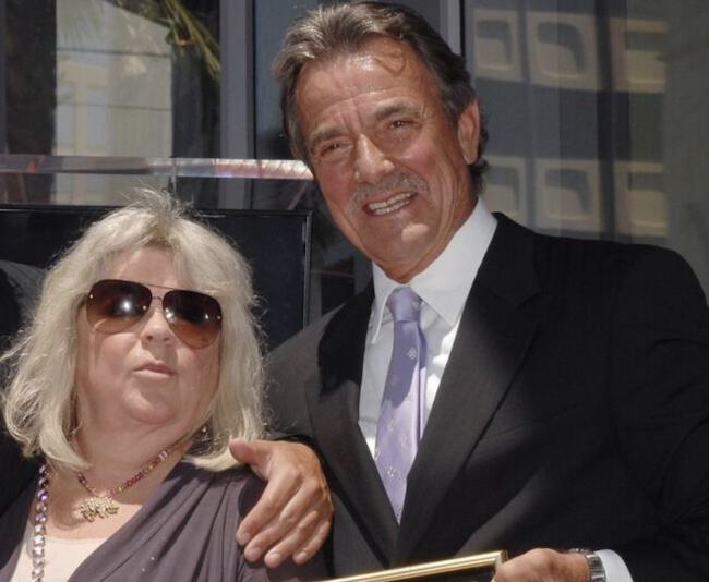 Eric Braeden with his wife Dale Russel