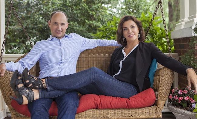 David Visentin and Hilary Farr
