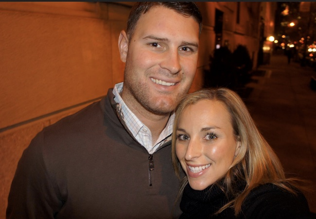 Chad Henne and wife Brittany Hartman