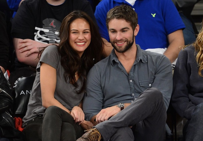 Chace Crawford with his ex-girlfriend Rachelle Goulding