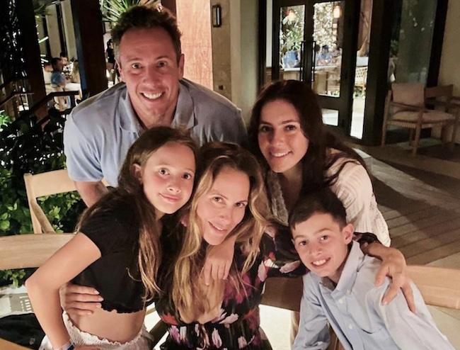 Cristina Cuomo with her husband Chris Cuomo and children