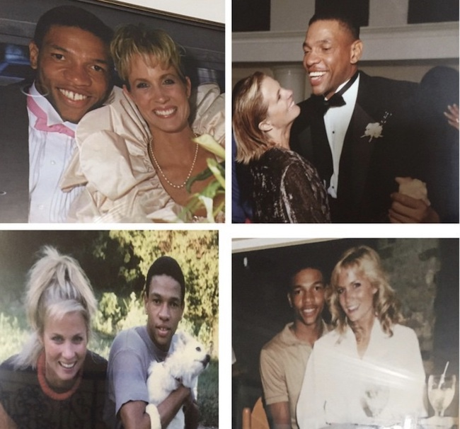 Kristen Rivers with her husband Doc Rivers