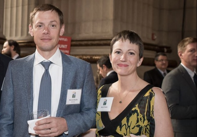 Steven Rinella and his wife Catherine Finch