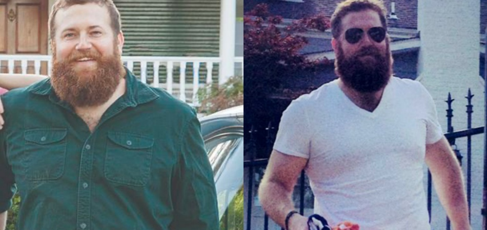 Ben Napier before and after picture