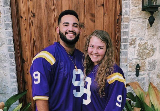 Willie Alexander Robertson with his girlfriend Abby Hammond